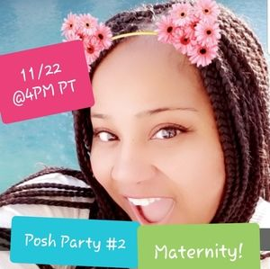 Co-hosting my 2nd Posh Party!🎶 Maternity Wear! 💖